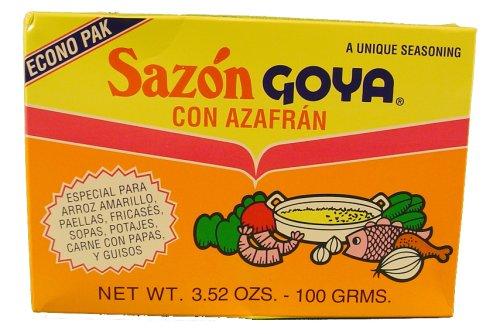 Sazon Goya Azafran 3.52 OZ ()