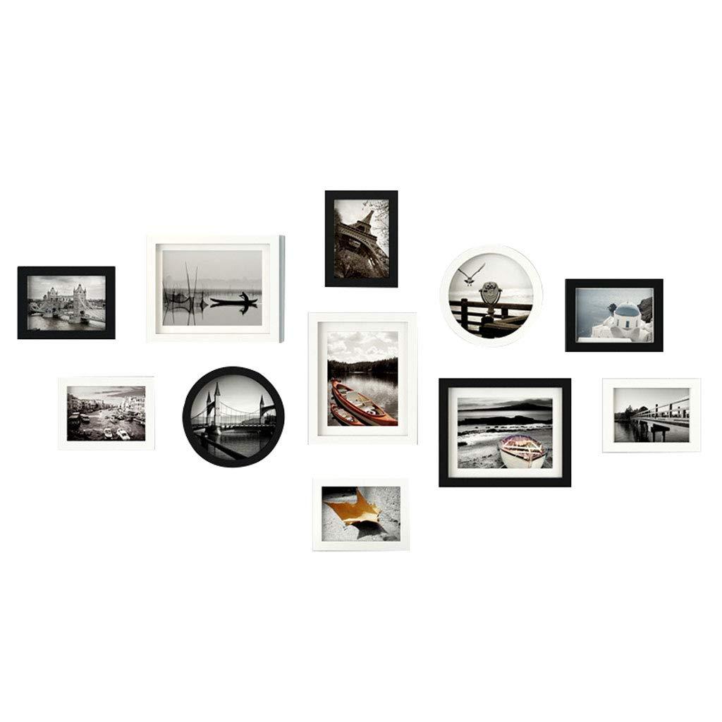 LCSHAN Combinazione Creativa della Parete del Fondo di personalità personalità di della Decorazione Minimalista della Parete della Foto Moderna (Coloreee   C) 6a4a19