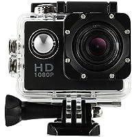 Boyiya 1080P HD Mini Waterproof Sports Recorder Car DV Action Camera Camcorder (Black)