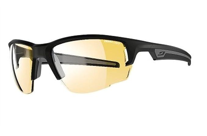 d4c9aeca38 Amazon.com  Julbo Venturi Sunglasses Matte Black Gray   Zebra Light ...