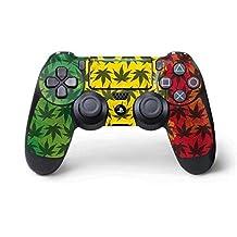 Rasta PS4 Pro/Slim Controller Skin - Marijuana Rasta Pattern | Skinit Lifestyle Skin