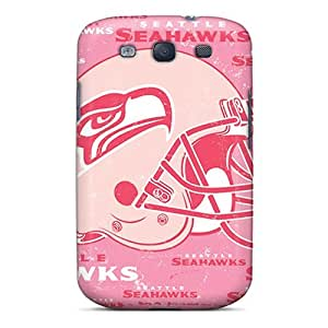Hard Plastic Galaxy S3 Cases Back Covers,hot Seattle Seahawks Cases At Perfect Customized wangjiang maoyi