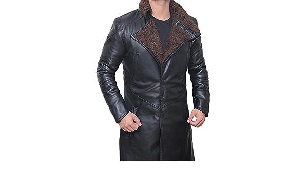 Cuero De Fashion Blade Bane Man's Chaqueta Just Coat Runner nx8wR0U6qB