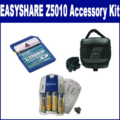 Kodak EASYSHARE Z5010 Digital Camera Accessory Kit includes: KSD2GB Memory Card, SDC-26 Case
