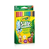 Crayola Doodle Scents Markers, 18 CT, School and Craft Supplies, Drawing Gift for Boys and Girls, Kids, Teens Ages  5, 6,7, 8 and Up, Holiday Toys, Stocking Stuffers, Arts and Crafts