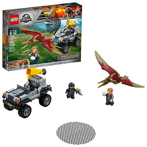 LEGO Jurassic World Pteranodon Chase 75926 Building Kit (126 Piece)