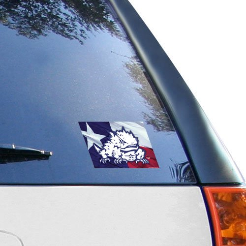 WinCraft NCAA Texas Christian University Multi-Use Colored Decal, 5