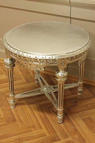LouisXV mesa barroca mesa de centro de madera redondo ...