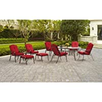 Mainstays Woodacre 10Pc. Patio Dining 6 Seats Set