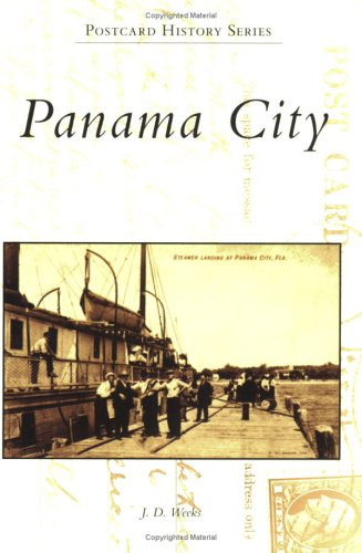 Panama City  (FL)  (Postcard - In Florida Panama Stores City