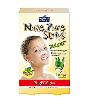 Purederm Nose Pore Strips Premium 24 Pack Pore Strips To Remove Blackheads (Aloe) SeHOON
