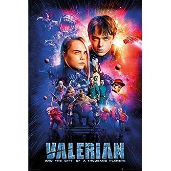 Amazon Com Valerian Poster 2017 Movie 11 X 17 Luc