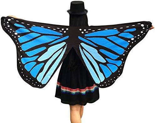 Xmiral Chal de Alas de Mariposa Duendecillo para Mujer Capa ...