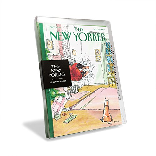 - The New Yorker Magazine Cover Santa Stuck in Chimney Holiday Cards (Box of 8)