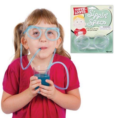 Toysmith Sippin Specs Toy (Straw Eyeglass)