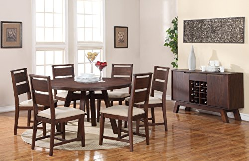 Modus furniture z portland solid wood round dining
