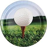 "Golf 7"" Plates"