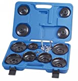 Laser - 3394 Oil Filter Wrench Set - Cup Type 13pc