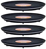 Plant Stand 41110 Down Under Plant Turner, Black (Pack of 4) For Sale
