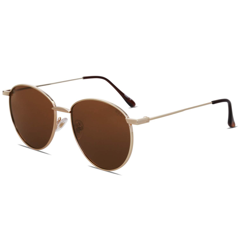 Jessica Simpson Womens J550 WH Oval Sunglasses