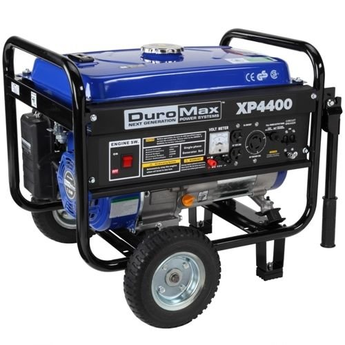 [DuroMax XP4400 Portable Gas Powered Recoil Start Generator] (Shock Treatment Costumes)