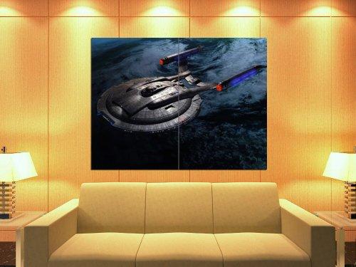 Star Trek Spacecraft (Star Trek Starship Enterprise Spacecraft NX-01 47x35 Huge Giant Print Poster)