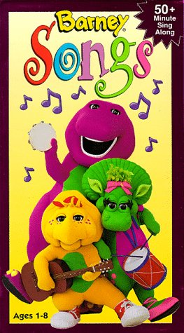 Barney Songs [VHS] by Universal Studios Home Entertainment