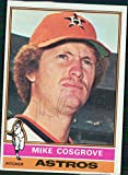 Signed Cosgrove, Mike (Houston Astros) 1975 Topps Baseball Card in blue pen autographed