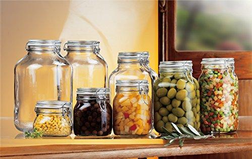 Bormioli Rocco Fido Clear Jar, 169 Oz.