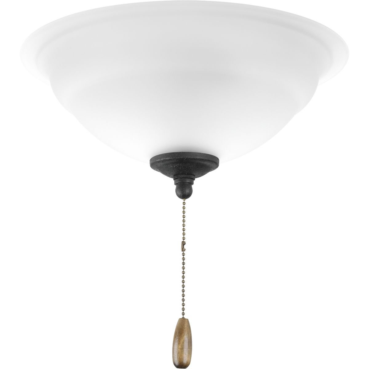 Progress Lighting P2645-77WB Fan Light Kit Forged Bronze