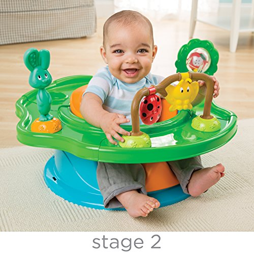 Image of the Summer Infant 3-Stage SuperSeat, Forest Friends - Neutral