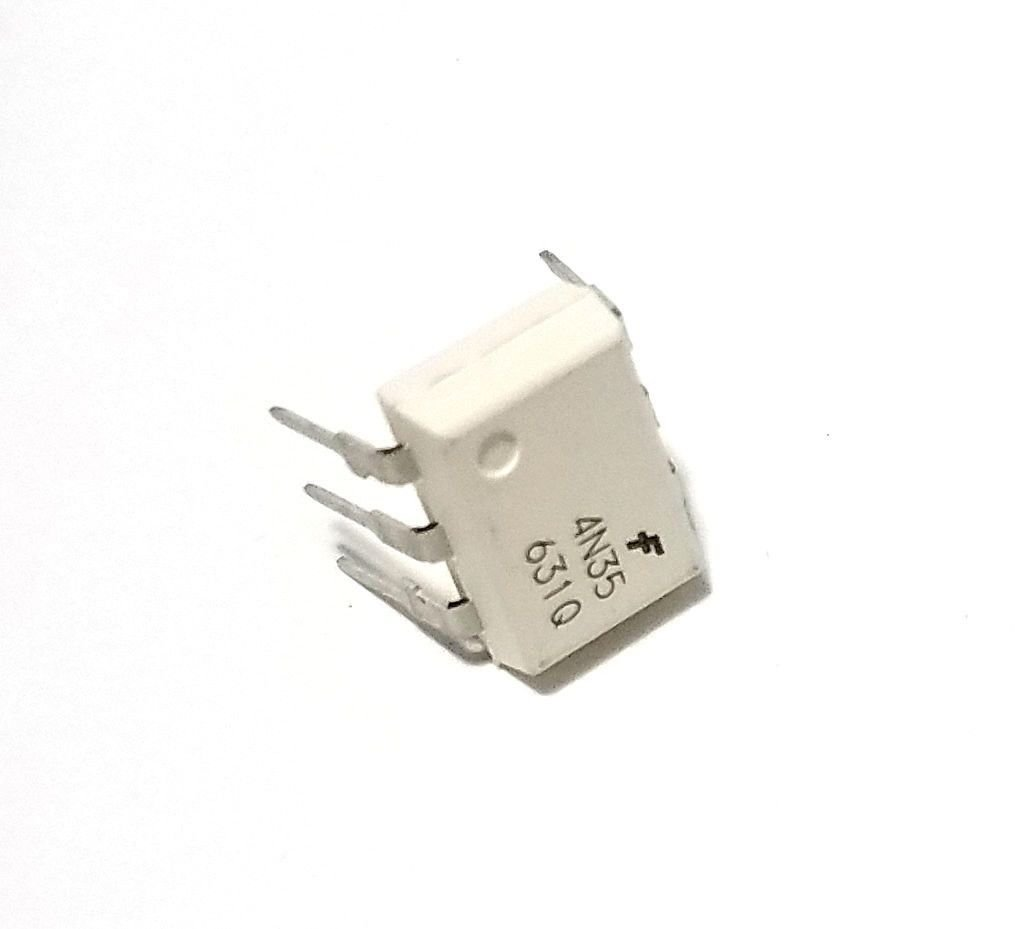 Fairchild Semiconductor 4N35 Optocouplers Phototransistor 30V IC (Pack of 20)