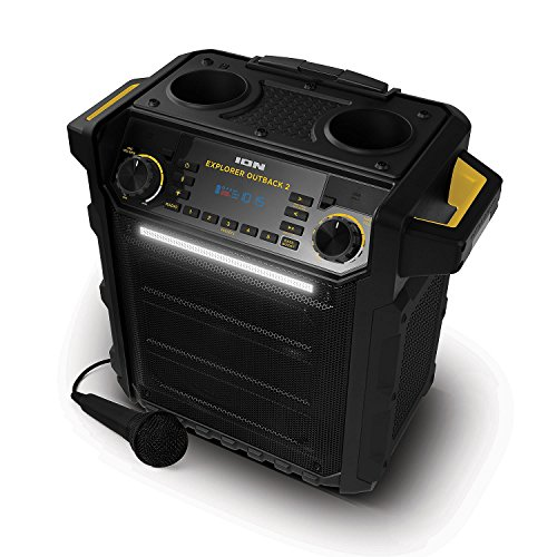 Ion Explorer Outback 2 Bluetooth Water Resistant Speaker System – Black