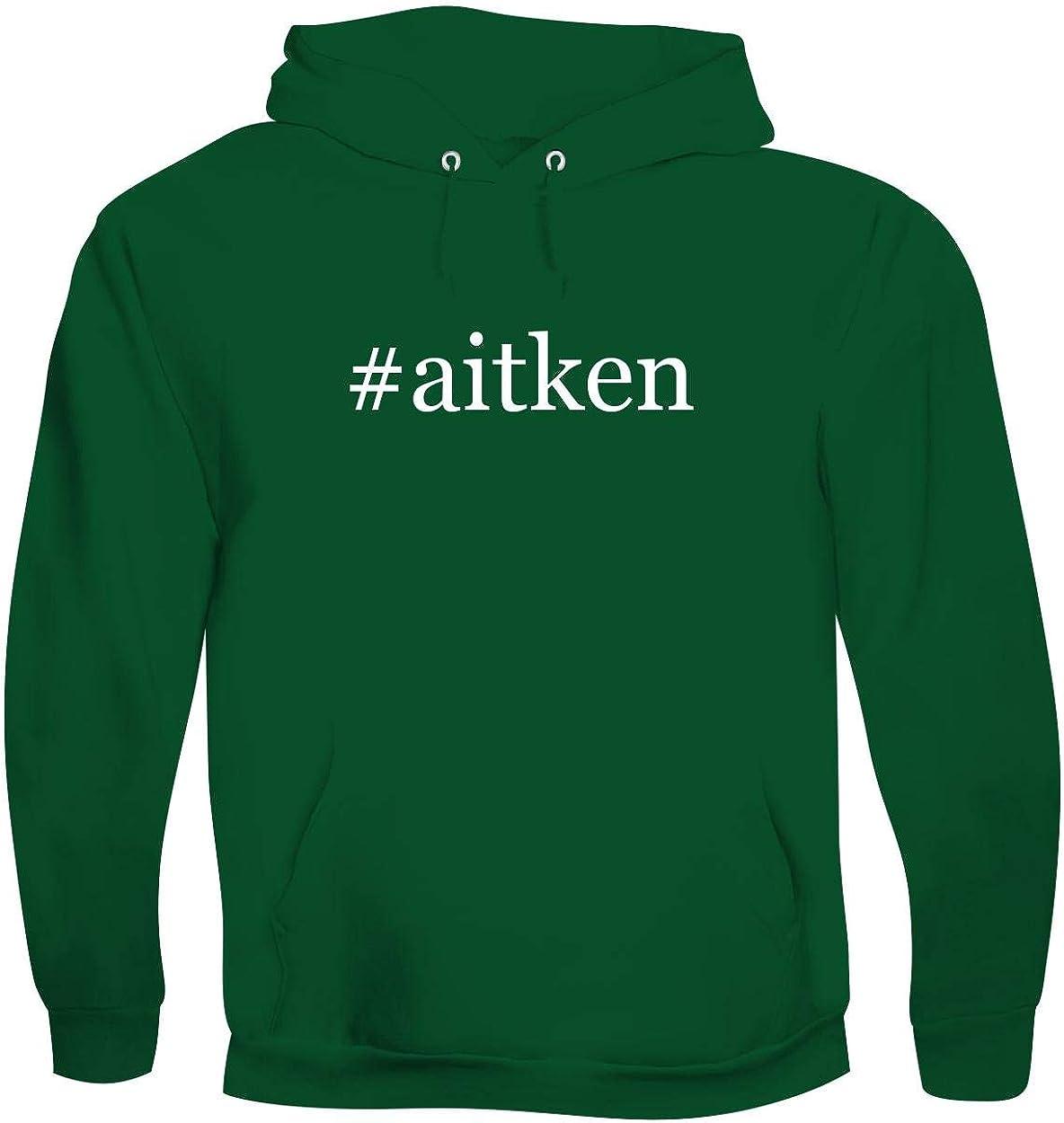 #aitken - Men's Hashtag Soft & Comfortable Hoodie Sweatshirt Pullover