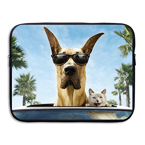 Dog Cat Sunglasses Black Friend Water Repellent Laptop Case Bags Laptop Bags Computer Backpack 13Inch - Technician Sunglasses