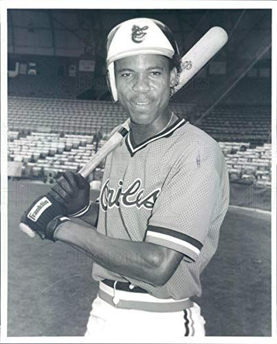 Historic Images - 1989 Vintage Press Photo MLB Baltimore Orioles Infielder Juan Bell - rkf13157