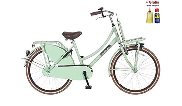 Bicicleta holandesa para mujer 60.96 cm POZA select-ZD pistacho 45 ...