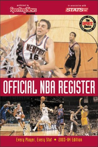 Official NBA Register : Every Player, Every Stat
