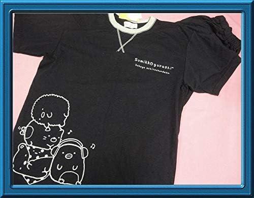 すみっコぐらし San-X 半袖パジャマ Lサイズ Tシャツタイプ 7分丈パンツ 紳士 メンズ ネイビー