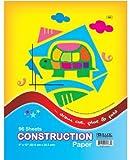 Bazic 96 Count 9'' X 12'' Construction Paper-50 Pound
