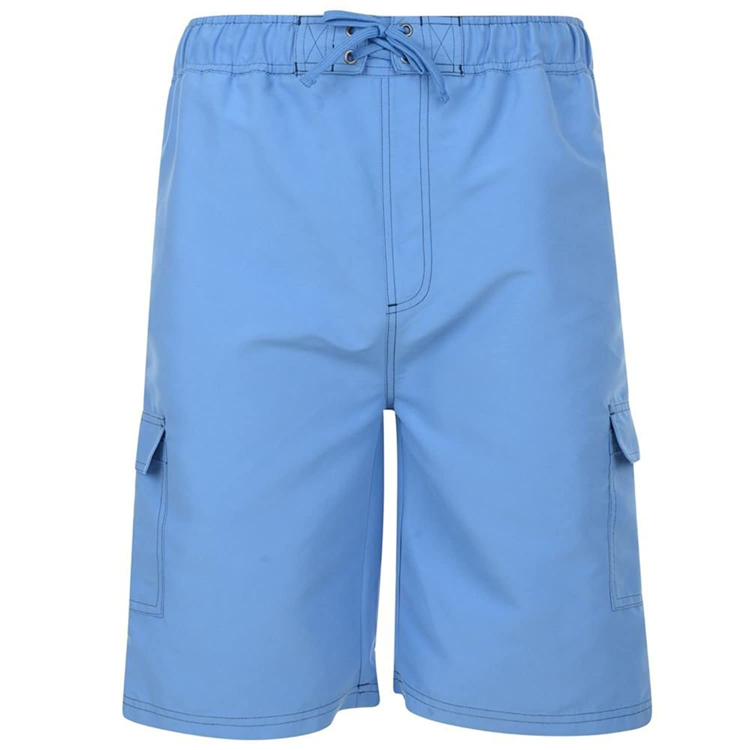 KAM LONG LENGTH CARGO POCKET SWIMMING SHORTS IN SIZE 2XL TO 8XL, 3 COLOR OPTIONS