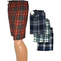 American Active Basics 24/7hombre 3Pack algodón suave Dormir Lounge Pant Jam Cargo Cortos para Hombre