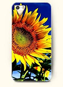 OOFIT phone case design with Bright sunflower for Apple iPhone 5 5s