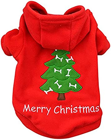 Ollypet Pet Clothes Puppy Sweater for Small Dogs Cute Teacup Chihuahua Yorkie Fleece Hoodie Clothing for Winter