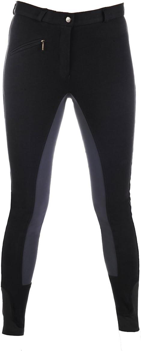 HKM Pantalon d/équitation Mod/èle W/ülfer X 2017/avec jambes /élastiques pour femme et enfant en 5/magnifiques couleurs