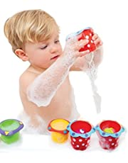 Nuby Bath Time Fun Splish Splash Cups