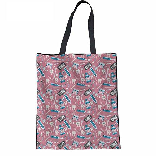 Advocator Frauen Reisen Tragetaschen Stylish Print Handtasche für Shopping Casual Holiday Beach Bag Color-14 GeU8gXBW