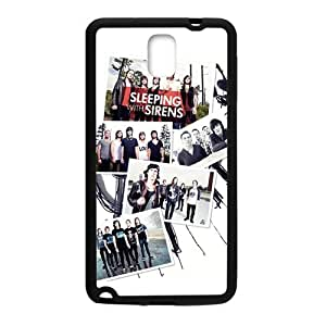 Sleeping With Sirens Fashion Comstom Plastic case cover For Samsung Galaxy Note3