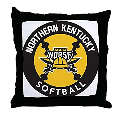 FiuFgyt Northern Kentucky NKU Norse Softball Couch Cushion Covers 18 x 18 Home Decor Throw Pillows Women