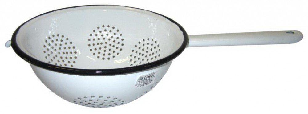Best Sporting Emaille Nudelsieb Gr/ö/ße:18 cm